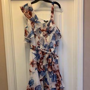 Floral Ruffle Midi Dress *Never Worn/New w/Tags*